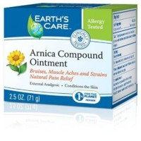 Earth's Care Arnica Compound Ointment Muscle and Joint Rub - 2.5 oz
