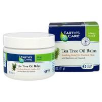 Earths Care Tea Tree Oil Balm with Shea Butter and Vitamin E - 2.5 oz