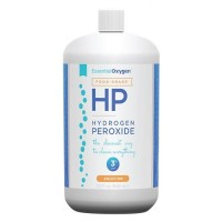 Essential oxygen 3% food grade hydrogen peroxide  -  32 oz