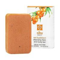 Sibu Beauty Cleanse and Detox Facial Bar Soap, Sea Buckthorn - 3.5 oz