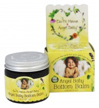 Earth Mama Angel Baby Bottom Balm Herbal Diaper Rash - 2 oz