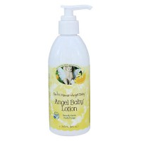 Earth Mama Angel Baby Lotion Natural Vanilla Orange - 8 oz