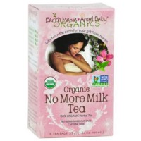 Earth mama angel baby organic no more milk tea - 16 ea