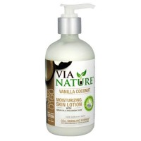 Via Nature Vanilla Coconut Hand and body lotion for normal skin - 8 oz