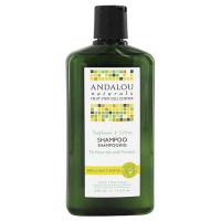 Andalou Naturals healthy shine hair shampoo, Sunflower citrus, 11.5 oz