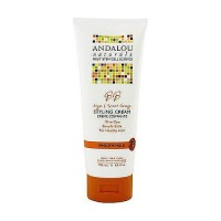 Andalou Naturals Moisture rich hair styling cream, sweet orange and argan - 6.8 oz