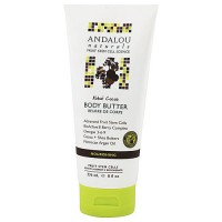 Andalou Naturals body butter, Kukui cocoa - 8 oz