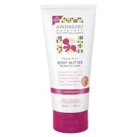 Andalou Naturals passion fruit body butter, Smoothing - 8 oz
