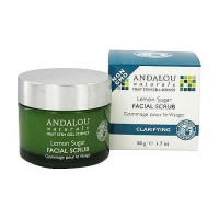 Andalou Naturals Lemon sugar facial scrub, Clarifying - 1.7 oz