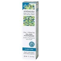 Andalou Naturals Acai Plus White Tea Oil-Free Skin Moisturizer, 2.1 oz