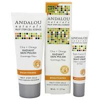 Andalou Naturals Chia Plus Omega Radiant Skin Polish - 2 oz