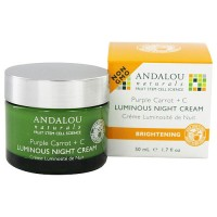 Andalou Naturals Purple Carrot Plus C Luminous Night Cream - 1.7 oz