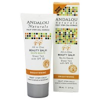 Andalou Naturals Beauty Balm Sheer Tint with SPF 30 - 2 oz