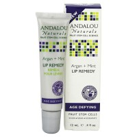 Andalou Naturals Argan Plus Mint Lip Remedy - 0.4 oz