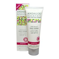 Andalou naturals 1000 roses day shade facial lotion spf18 - 2.7 oz