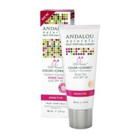 Andalou naturals 1000 roses color and correct - 2 oz