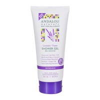 Andalou Naturals Mind & Body Refreshing Shower Gel, Lavender Thyme - 8.50 Oz