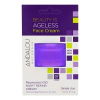 Andalou naturals beauty is ageless face cream - 0.14 oz, 6 pack