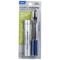 Neutrogena healthy volume waterproof mascara, carbon black - 2 ea