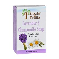 Roots and fruits bar soap lavender and chamomile - 5 oz