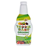 Citrus magic veggie wash organic soaking size bottle - 32 oz
