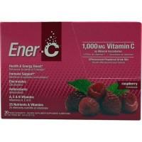 Ener-C vitamin C raspberry - 30 ea