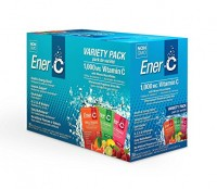 Ener-C Vitamin Variety Pack 1000 Mg Packets - 30 ea