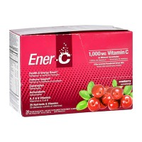 Ener c 1000mg Vitamin C cranberry suplements - 30 ea