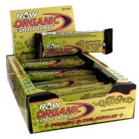 Organic food bar raw chocolate, coconut - 1.76 oz, 12 ea