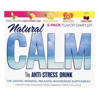 Natural vitality single serve packs flavor sampler natural calm anti stress drink - 5 ea