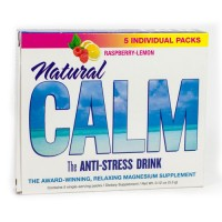 Peter gillhams natural vitality calm 5pk raspbrry lemon - 5 pack