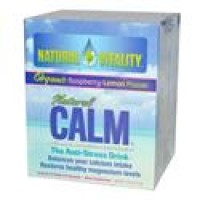 Natural vitality calm counter display, assorted flavors - 5 ea ,8 pack