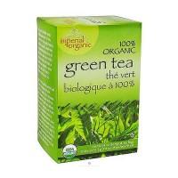 Uncle Lees Tea Imperial Organic, Green Tea - 18 Tea Bags