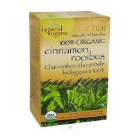 Uncle Lees Tea Imperial Organic Rooibus Cinnamon, Caffeine Free - 18 Tea