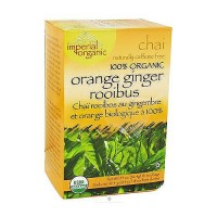 Uncle Lees Tea Imperial Chai Organic Orange Ginger Rooibus, Caffeine Free - 18 Tea Bags
