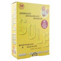 Inner health energize invigorate sole pads - 30 patch