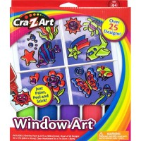 New Window art activity kit pack - 18 ea
