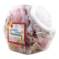 Yummy earth organic lollipops gluten free, fruit flavors - 30 oz, 150 ea