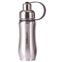 Thinksport  stainless  steel  sports bottle silver - 25 oz 2 ea