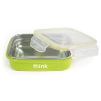 Thinkbaby bento box bpa free, light green - 1 ea