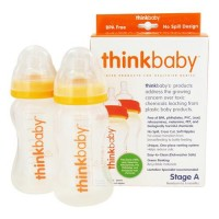 Thinkbaby twin pack stage a baby bottles - 2 pack