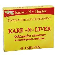 Kare-N-Herbs Kare-N-Liver Antioxidant And Liver Cleanser Tablets - 40 ea