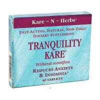Kare-N-Herbs Tranquility Kare Tablets - 40 ea