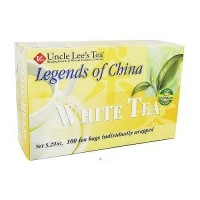 Uncle Lees Tea Legends of China, White Tea - 100 Bags