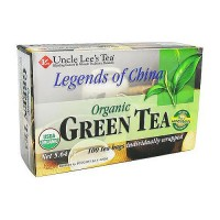 Uncle Lees Tea Legends of China Organic Green Tea- 100 Bags