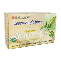 Uncle Lees Tea Legends of China Organic White Tea - 100 Bags