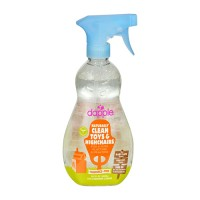 Dapple natural toy and highchair cleaner spray, fragrance free - 16.9 oz