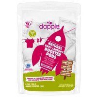 Dapple natural baby laundry booster pods, fragrance free - 25 ea