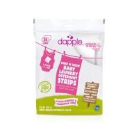 Dapple fragrance free baby laundry detergent strips - 5.3 oz