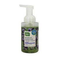 CleanWell Natural Antibacterial Foaming Hand Wash, Lavender - 9.5 oz